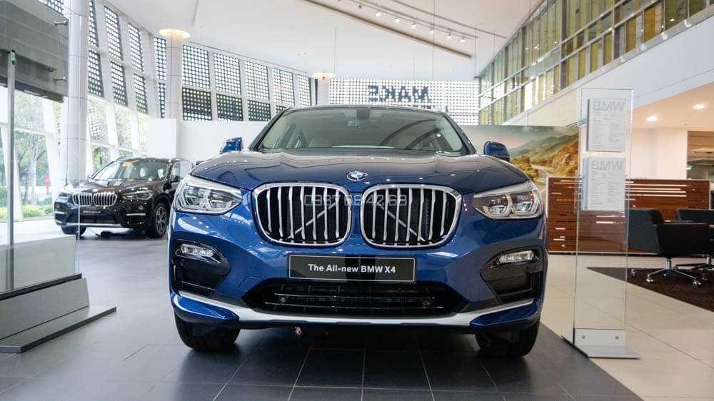 đầu xe BMW X4 2019