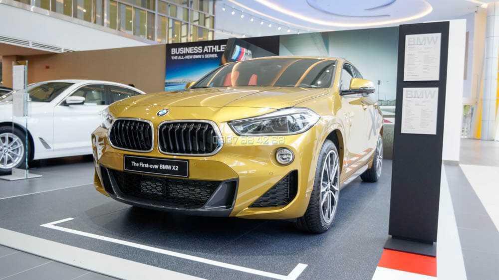 giá xe BMW X2 performance 2019