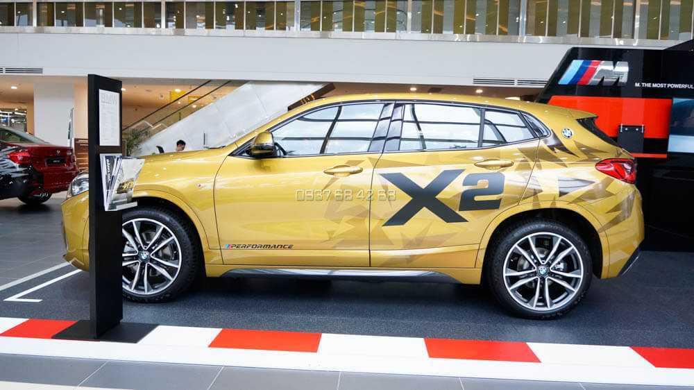 kích thước BMW X2 2019