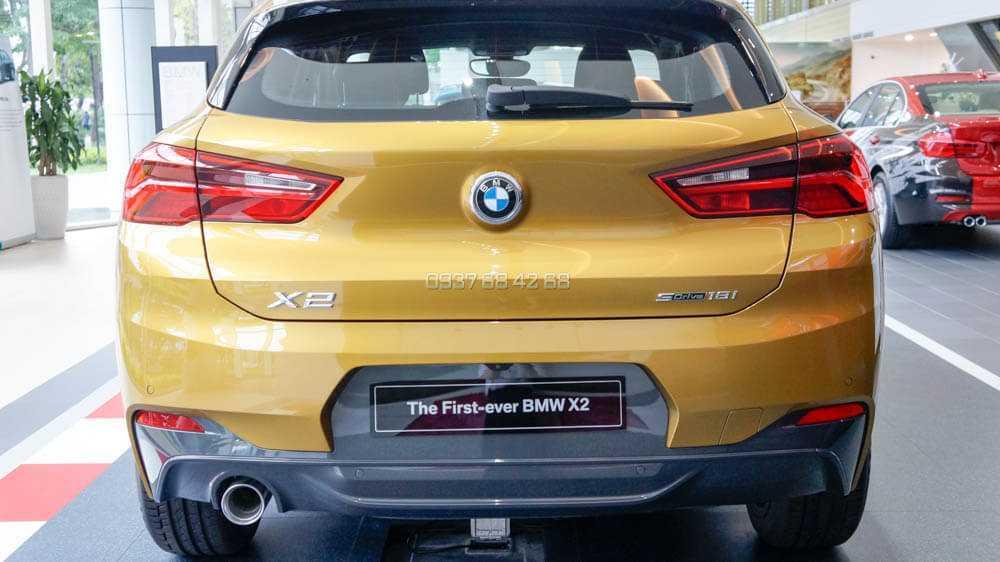 Đuôi xe BMW X2