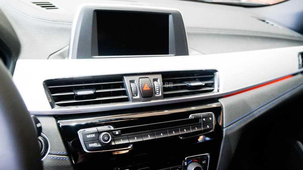 bảng điều khiển BMW X2