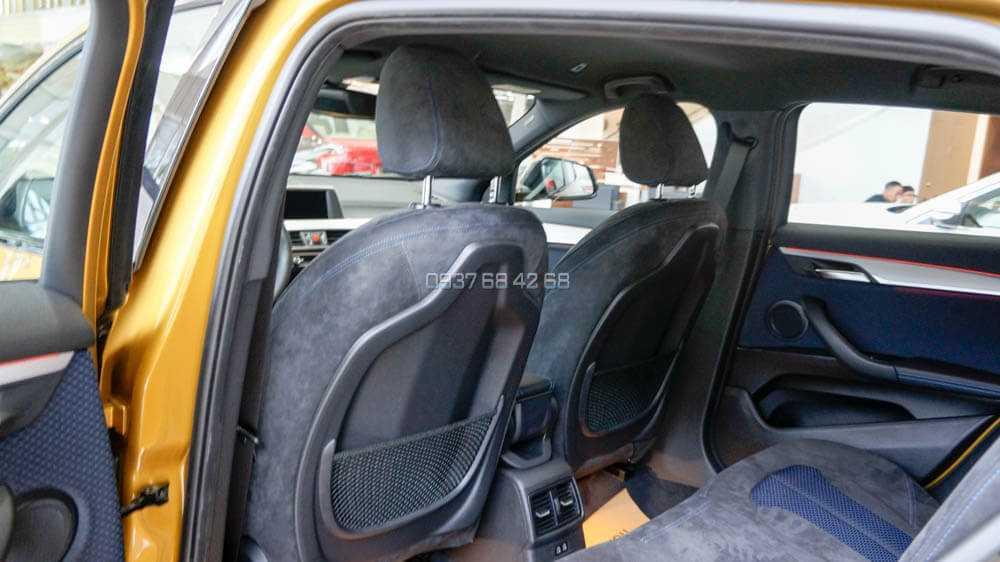 hàng ghế sau BMW X2