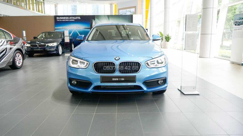 giá xe BMW 118i 2019