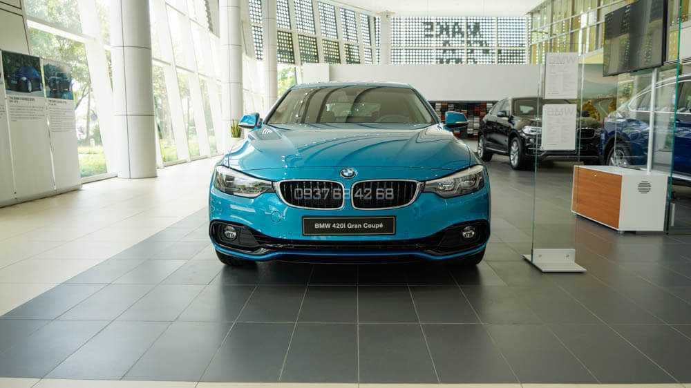 xe BMW 420i Gran Coupe 2019