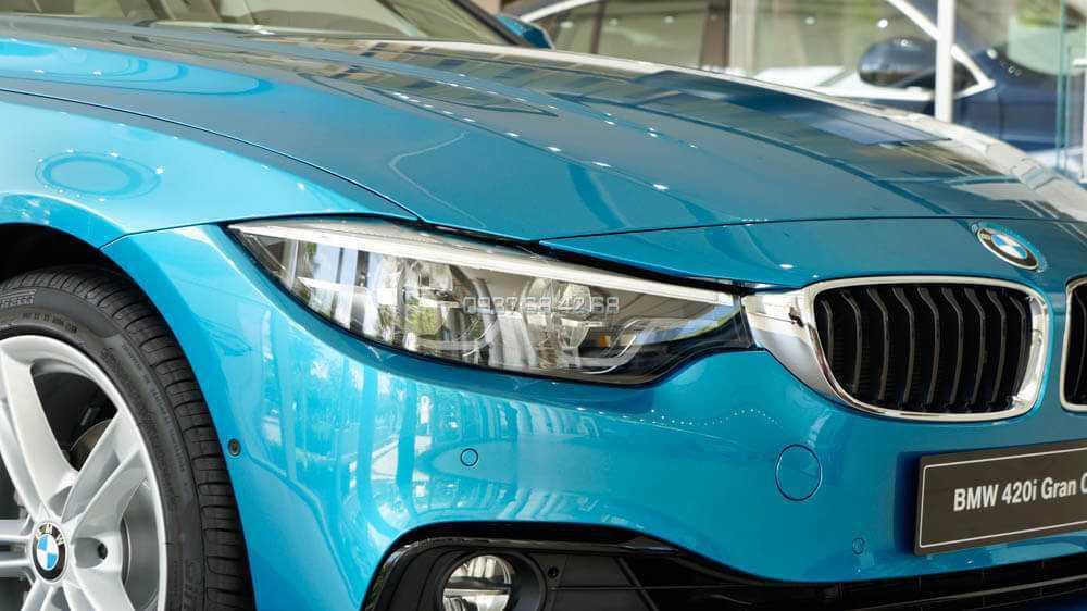 xe BMW 420i Gran Coupe gia