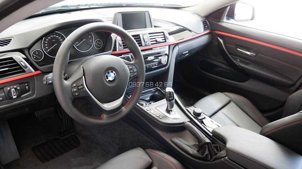 nội thất xe BMW 420i Gran Coupe 2019