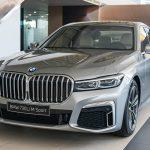 Bảng màu của BMW 730i 2020 có gì